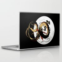 dragon ball Laptop & iPad Skins featuring Black Dragon by TxzDesign