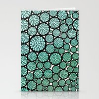 huebucket Stationery Cards featuring Blooming Trees by Pom Graphic Design
