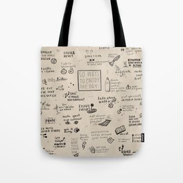 50 Ways To Enjoy The Day Tote Bag