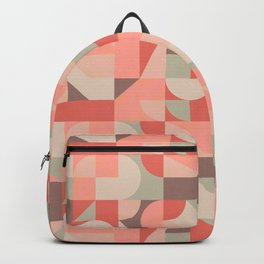 Mid Century Shapes N.07 / Hot Summer Geometry Backpack