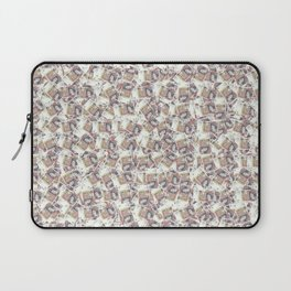 Giant money background 50 pound notes / 3D render of thousands of 50 pound notes Laptop Sleeve