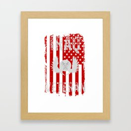 Iraq Veteran, Iraq War, Veteran Gift Framed Art Print