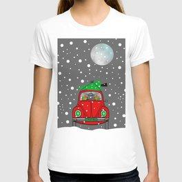 Santa Lane T-shirt