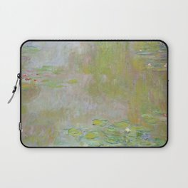 Water Lily Pond by Claude Monet Laptop Sleeve