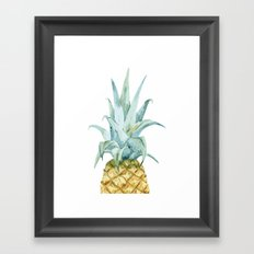 Pineapple Topper Framed Art Print