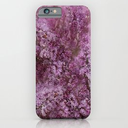 Lilac Splash iPhone Case