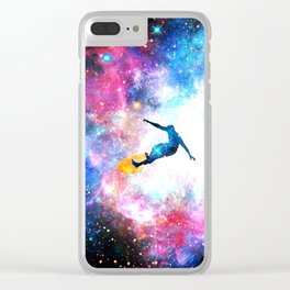 Bobby Betelgeuse Clear iPhone Case