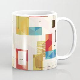 Modern geometric pattern Coffee Mug