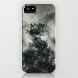 Recently // Dark Boogie Edit iPhone Case