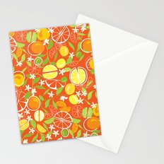 Citrus Squeeze Stationery Cards