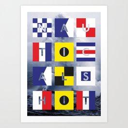 Nautical Shit Art Print