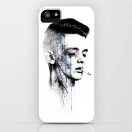 ABSENCE iPhone Case
