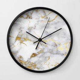 Italian gold marble Wall Clock