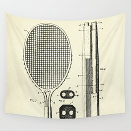 Handle for Tennis Rackets and the Like-1930 Wall Tapestry