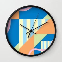 Square Freedom 2 Wall Clock