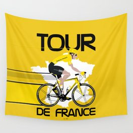Tour De France Wall Tapestry