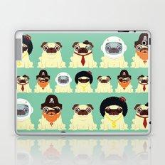 Pug pattern Laptop & iPad Skin