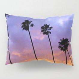 """""""Butterfly Beach Palms"""" Sunsets Pillow Sham"""