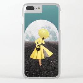 My Oh My Clear iPhone Case