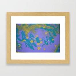 Splash Down Framed Art Print