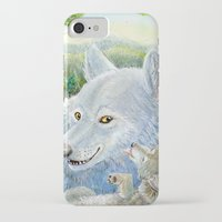 minnesota iPhone & iPod Cases featuring Minnesota Wolves by MelanieLehnen