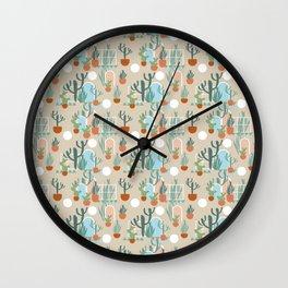 Living in the Desert Wall Clock