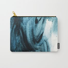 1 2 3 1 : blue abstract Carry-All Pouch