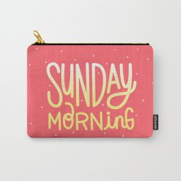 Sunday morning Carry-All Pouch