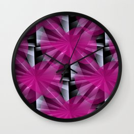 3D abstraction -06a- Wall Clock