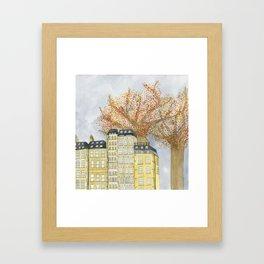 Where Do You Live Framed Art Print