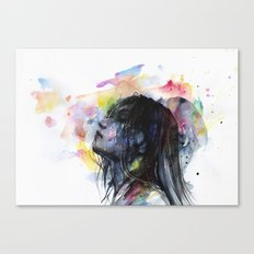 the layers within Canvas Print