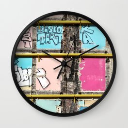 Past, Present and Future Wall Clock