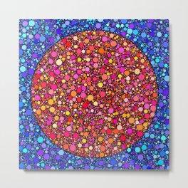 One meeeeeeeeeeeeeeeeellion circles Metal Print