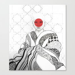 The Monk Canvas Print