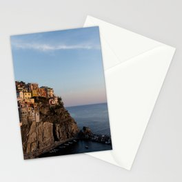 Manarola,Italy at Sunset Stationery Cards