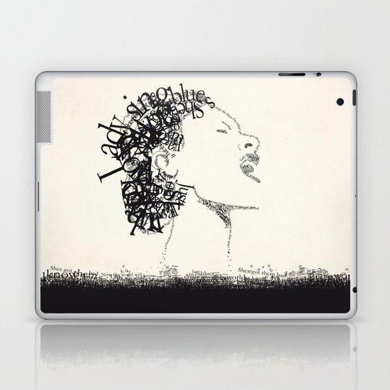 Jazz Typography Laptop & iPad Skin