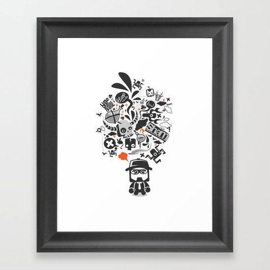sham_ideas Framed Art Print