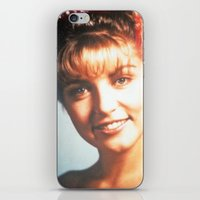 """laura palmer iPhone & iPod Skins featuring Twin Peaks """"Laura Palmer"""" by Spyck"""