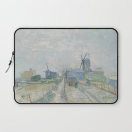Montmartre: Windmills and Allotments Laptop Sleeve