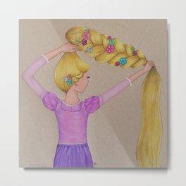 Rapunzel the Lost Princess Metal Print