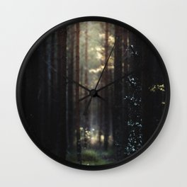 Home of the broken toys Wall Clock
