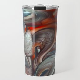 Goddess Of Watchfulness And Truth. Travel Mug