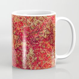 Red Earth Scratches Coffee Mug