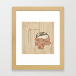 "Luisa. ""Bufandas"" Collection Framed Art Print"