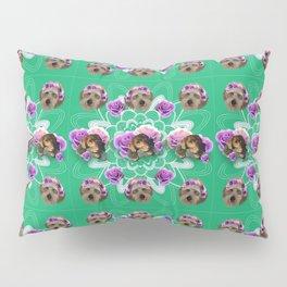 Doggo Garden Pillow Sham