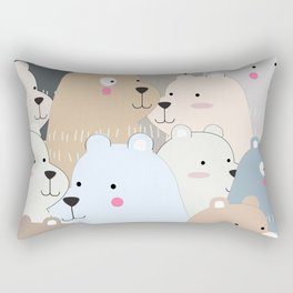 BEAR #10 Rectangular Pillow