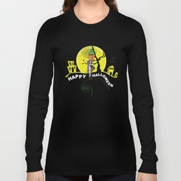 Boo Happy Halloween Long Sleeve T-shirt
