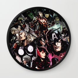 art hero Wall Clock