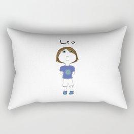 Personalized Art - Leo Rectangular Pillow