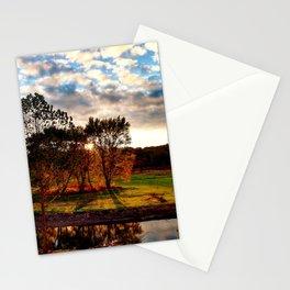 Oxbow Sunset Ohio Stationery Cards